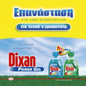 Dixan Power Gel