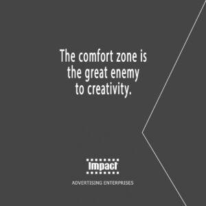 Avoid comfort zone – Dan Stevens